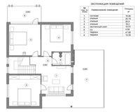 Дом 293 кв. м, этаж 2
